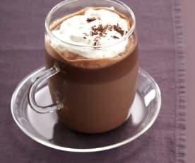 Gorąca czekolada z brandy