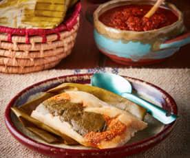 Tamales rancheros