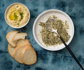 Hazelnut dukkah with fennel