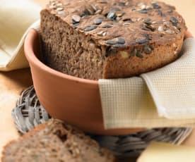 Dinkel-Buchweizenschrot-Brot
