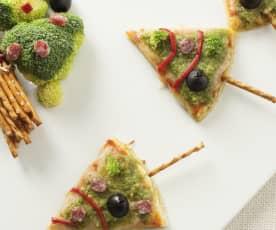 Pizza abeto