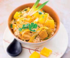 Poulet à l'ananas et quinoa