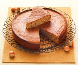 Gâteau sans farine aux noisettes