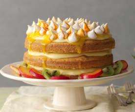Tort tropikalny z bezikami