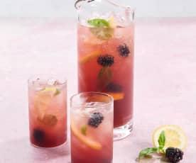 Keto Blackberry Detox Water