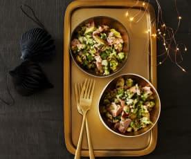 Brokkoli-Wurst-Salat