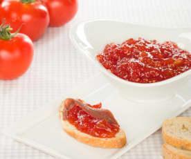 Mermelada agridulce de tomate