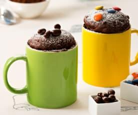 Mug cake de chocolate