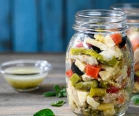 Chicken Salad with Mint Vinaigrette