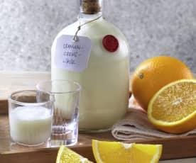 Orangen-Creme-Likör