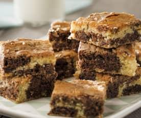Brownie marmolado