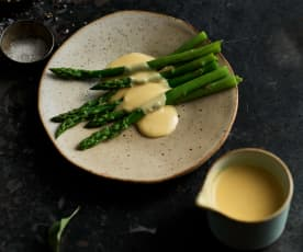 Hollandaise sauce (TM6 - Serves 2-4)