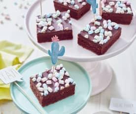 Schokoladen-Marshmallow-Kuchen