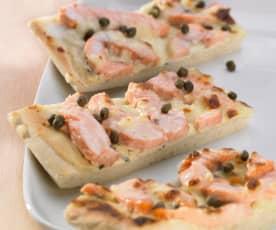 Lachspizza