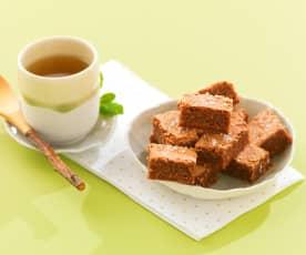 Brownies au chocolat et à la noix de coco