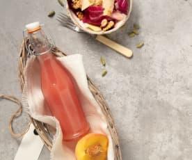 Fruchtiger Pfirsichessig