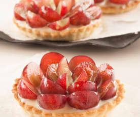 Tartaletas de uvas