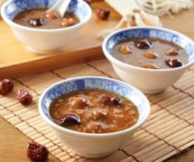 桂圓米糕粥