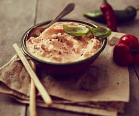Paprika-Schafskäse-Dip