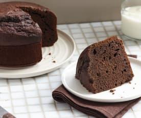 Gâteau au chocolat et fromage blanc