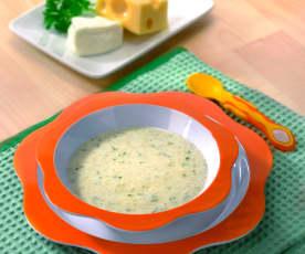 Patate cremose ai formaggi (10-12 mesi)