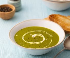 Spinach, Orange and Carrot Soup