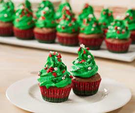 Minicupcakes de Navidad