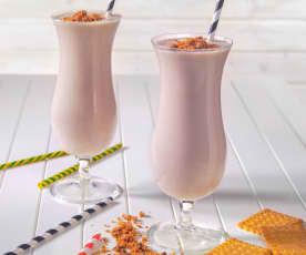 Knuspriger Joghurt-Bananen-Shake