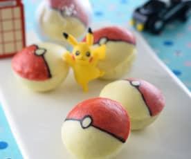 神奇寶貝蛋糕球