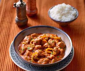 Lammgulasch mit Paprika - Tas Kebap