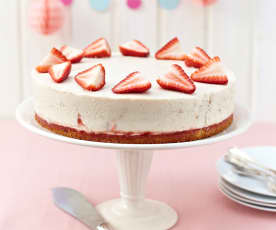 草莓優格乳酪蛋糕