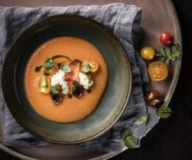 Gazpacho | Petersilie | Burrata