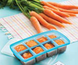 Purée z marchewki (dla dzieci)