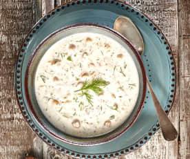 Bulgurlu Soğuk Çorba