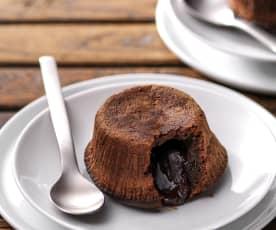 Tortino di cioccolato con cuore morbido