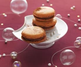 Caramel-Macarons