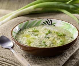 Antica minestra ai broccoletti
