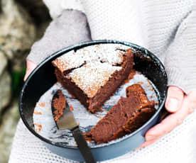 Moelleux à la crème de marrons et au chocolat