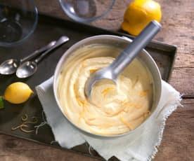 Zitronen-Glace