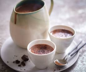 Chocolate caliente (sin lactosa)