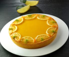 Crostata limone e arancio al cioccolato bianco di Luca Montersino