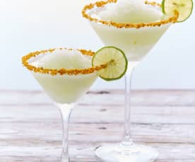 Margarita with Citrus Dust