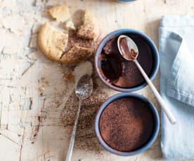 Menu express - Crèmes dessert chocolat-tonka