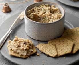 Roasted Parsnip and Chestnut Pâté