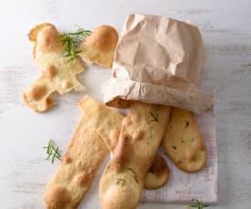 義大利婆舌薄麵包餅