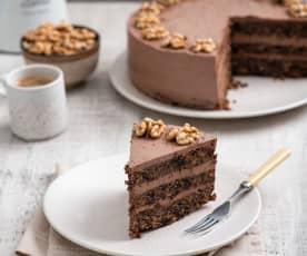 Tort orzechowo-makowy
