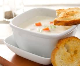 蔬菜巧達濃湯