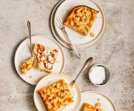 Cheesecake au streusel