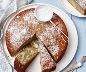 Mohn-Zebra-Kuchen