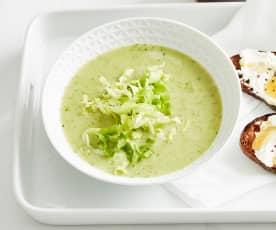 Endiviensalat-Suppe